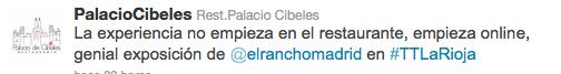 Tweet trip La Rioja el rancho madrid 6