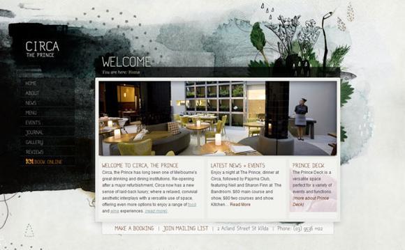 25 páginas webs de restaurantes