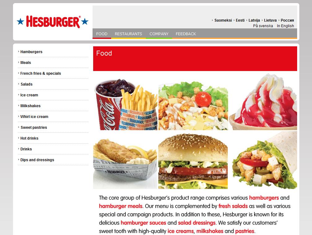 hesburger.com