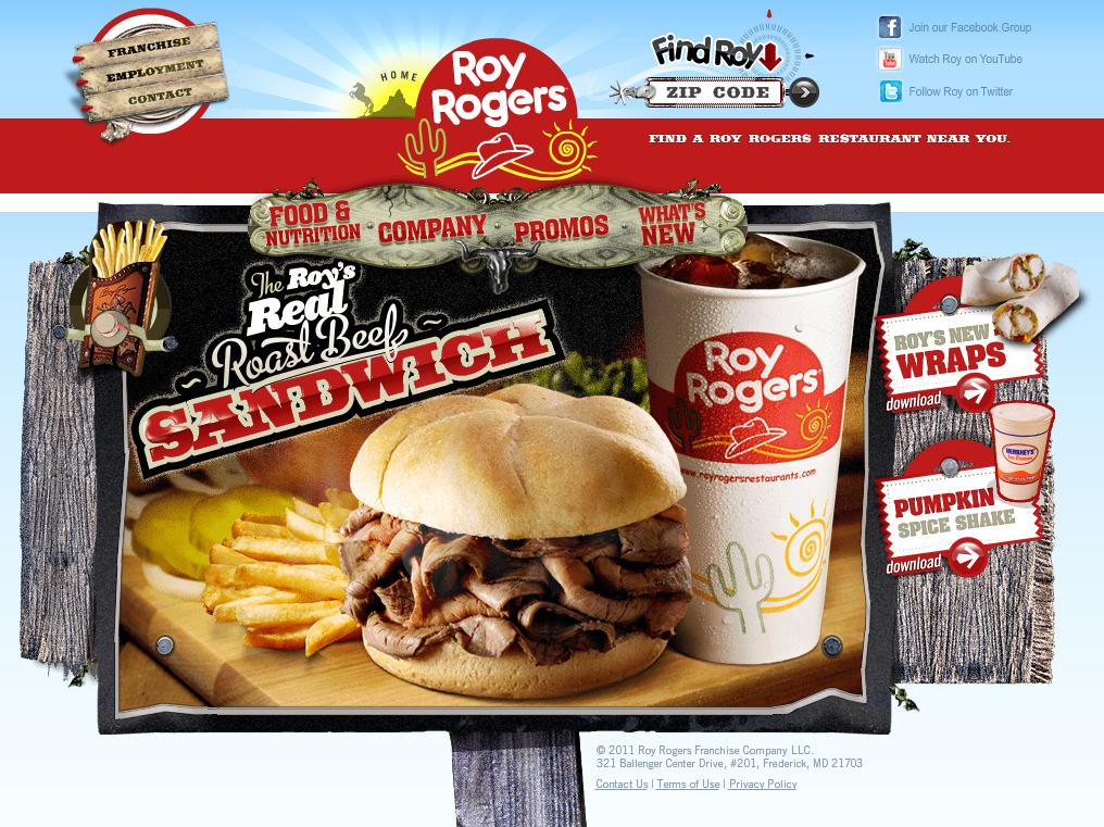 royrogersrestaurants.com