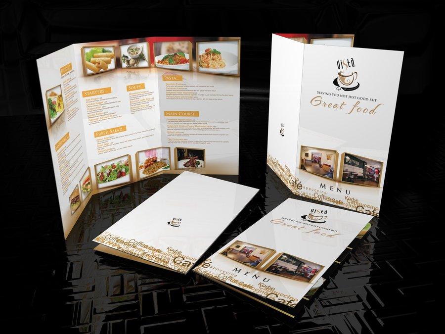 2 fold menu