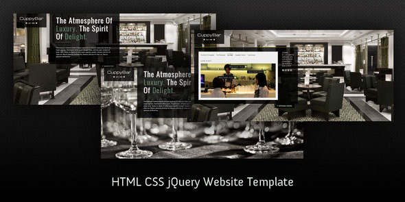 Coffee House HTML5 website template