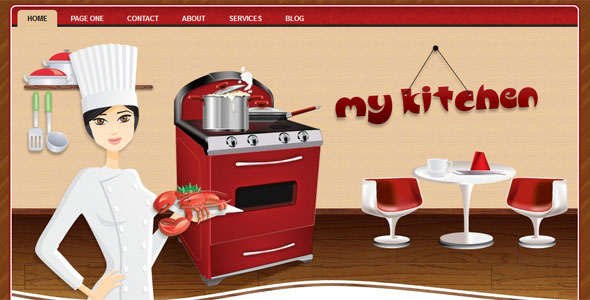 WP-MyKitchen WordPress Themes