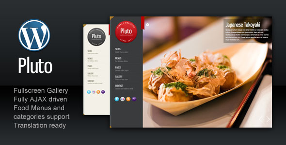 Pluto Fullscreen Cafe and Restaurant