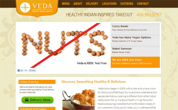 Veda Healthy Indian Takeout