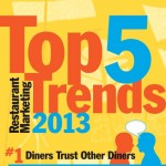 Las 5 tendencias de marketing para restaurantes en 2013