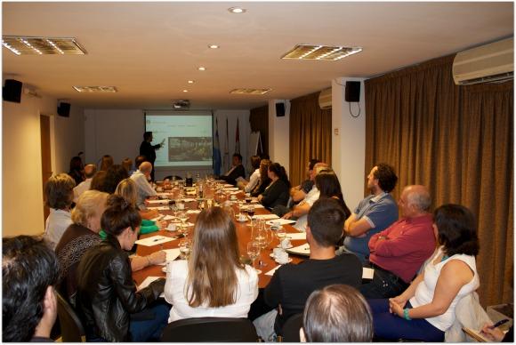 Conferencia Diego Coquillat en Argentina
