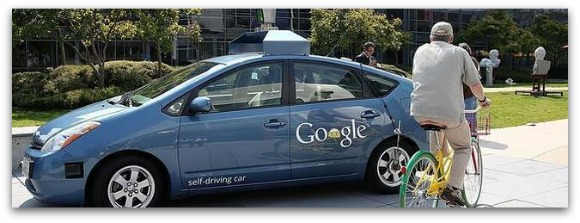 Coche sin conductor de google