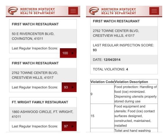 Sanidad alimentaria en los restaurantes