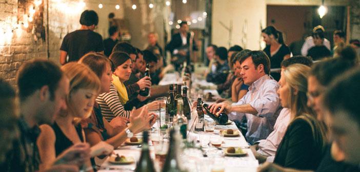 Las cenas de Dinner Lab un nuevo concepto de moda en Estados Unidos