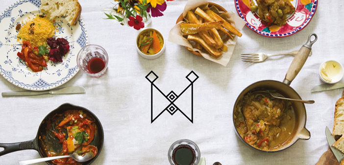 Bodegón de platos del restaurante Mazi Mas