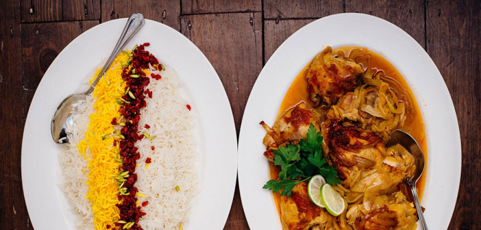Platos del restaurantes Mazi Mas