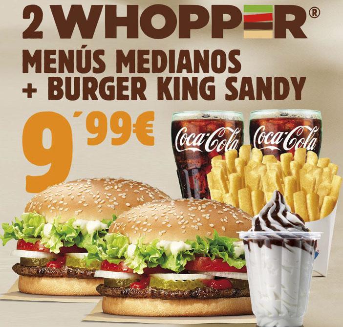 Promoción Burguer King
