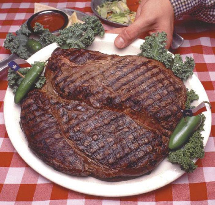 El desafio del Big Texan Steak Ranch