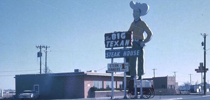 El mitico restaurante de la ruta 66 Big Texan Steak Ranch