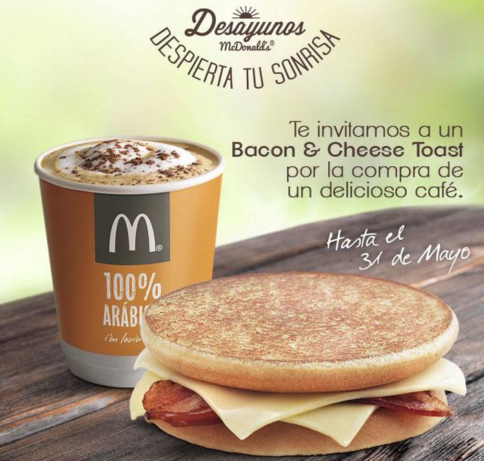 Promoción de los restaurantes McDonalds