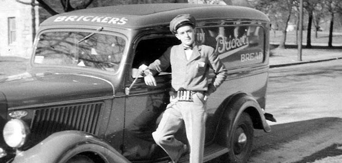 Carro de pan de Bricker, década de los 40