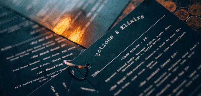 Carta del restaurante The Lockhart