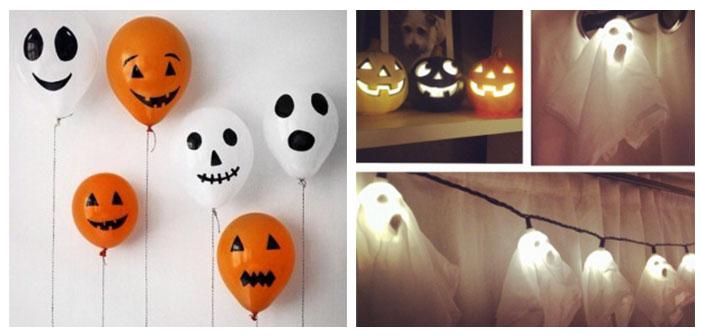Halloween decoracion cmo hacer un fantasma para decorar for Decoracion hogar halloween