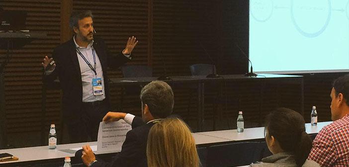 Diego Coquillat en el congreso San Sebastián Gastronomika