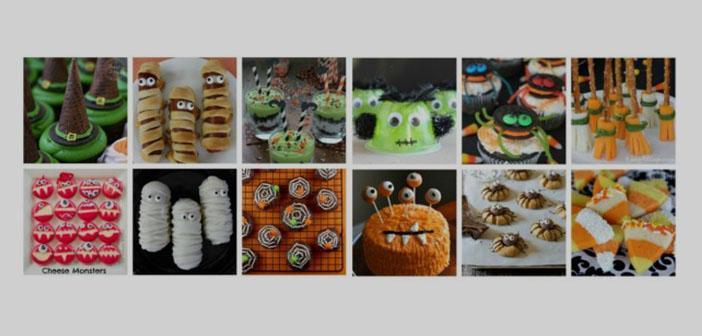 Dulces para niños Halloween