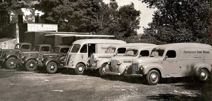 Flota de furgones de pan de Pepperidge Farm
