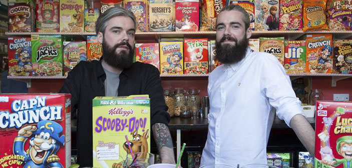 Fundadores del Cereal Killer Cafe