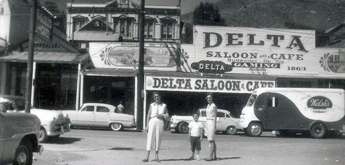 Furgoneta de pan Welsh, Virginia City, Nevada, Septiembre de 1958