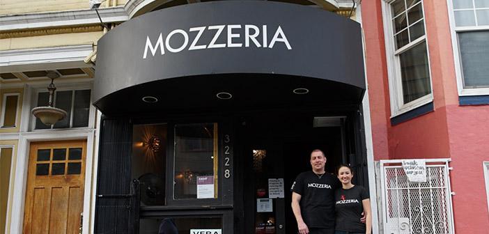 Melody y Russell Stein son los dueños de Mozzeria