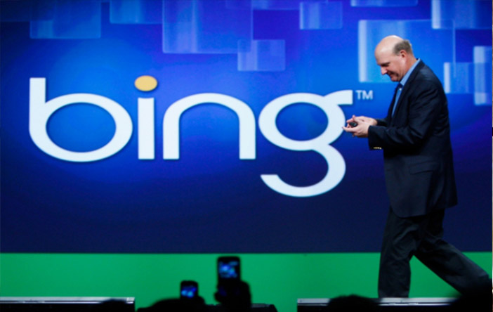 Conferencia de la empresa Bing de Microsoft