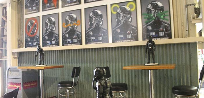 Rebel Hangar restaurante-zonas