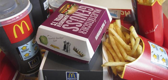 Ingredientes de Mcdonalds