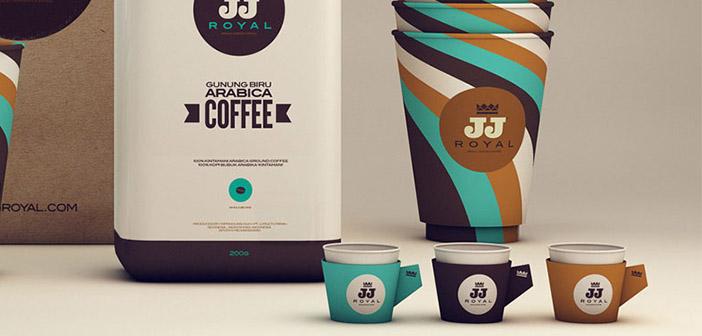 JJ Royal ofrece, tanto físicamente como online, multitud de tipos de cafés
