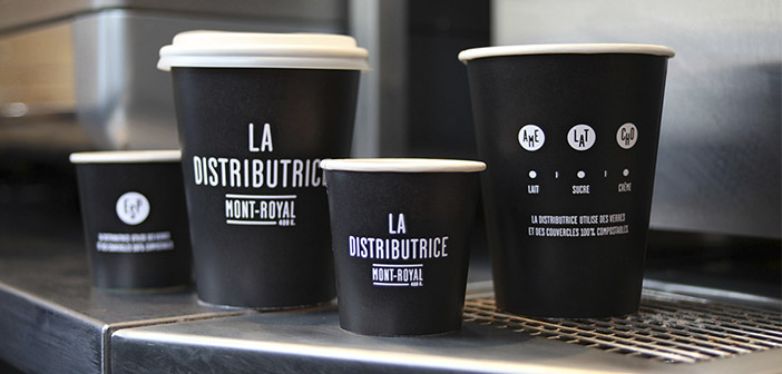 La Distributice utiliza materiales reciclables 100%: vasos, cubiertos y envases
