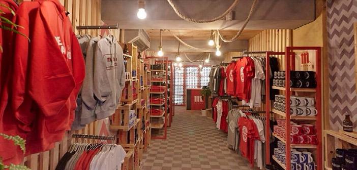 Tienda de todo el merchandising de Mahou