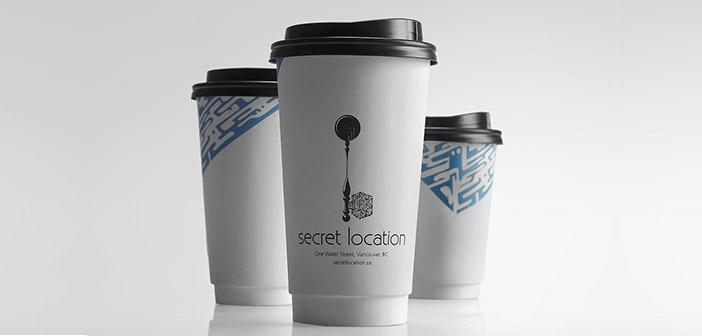Packaging del restaurante Secret Location