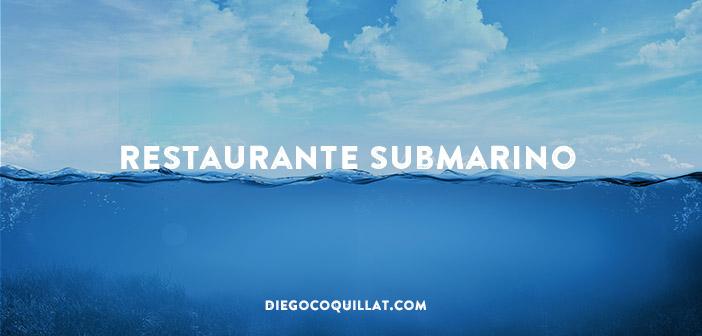 Abren el primer restaurante submarino en la India… y lo cierran