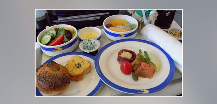 Air-China---Dinner-in-business-class