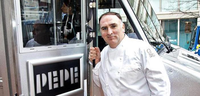 La revista Time incluye al Chef José Andrés en su particular ranking de las 100 personas más influyentes