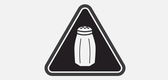 En Nueva York todos los platos que contengan más de 2.300 miligramos de sodio deberan llevar esta icono en su carta