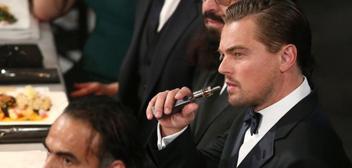El capricho de Di Caprio de 'vapear' en los Oscar se esfuma cuando la Academia decide prohibirlo