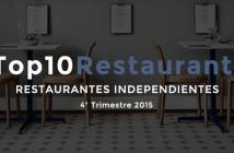 Los 10 mejores restaurantes independientes en redes sociales de España en 2015 [4T2015]