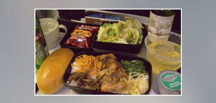 United---Dinner-in-economy-class