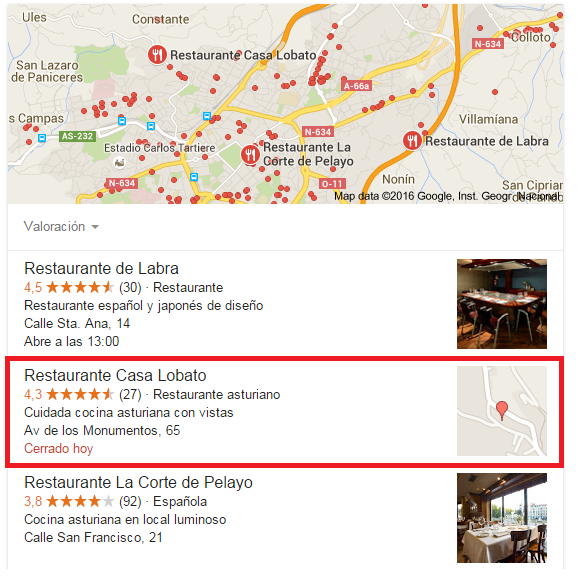 Imagen restaurante Oviedo