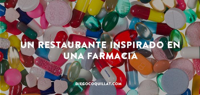 Abren un restaurante inspirado en una farmacia
