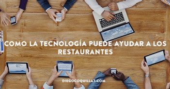 Como la tecnología puede ayudar a los restaurantes