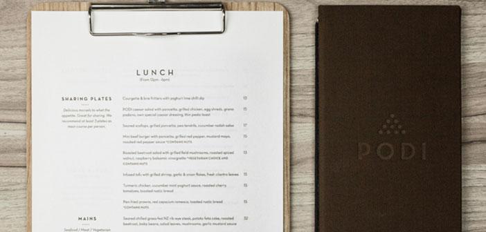 Tener en cuenta cuáles van a ser los platos que más nos interesen en nuestra carta