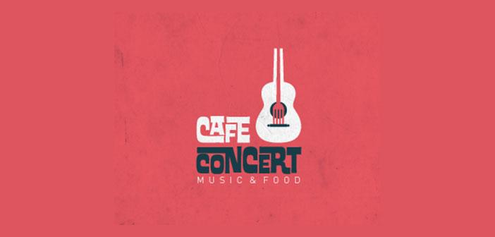Inspiración de logo para un bar de conciertos