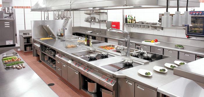 el diseo de la cocina del restaurante que ante todo debe ser prctica funcional