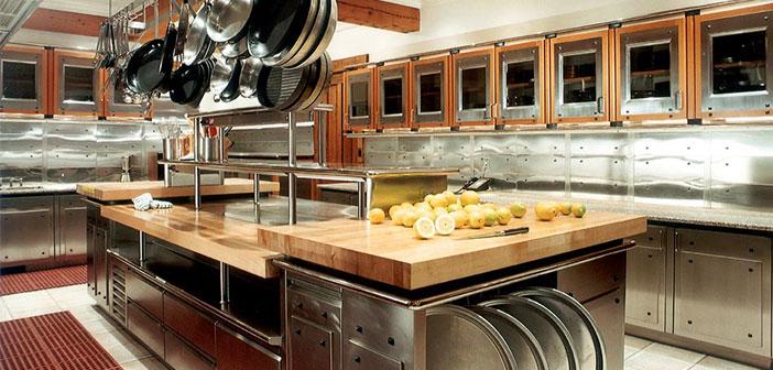 La cocina debe ser productiva y estar diseñada de tal forma que se pueda trabajar cómodamente en ella.